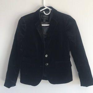J. Crew Schoolboy blazer in Velvet size 00P